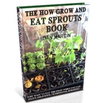 Grow & Eat Sprouts, How to book at diySufficient.com only $4.99