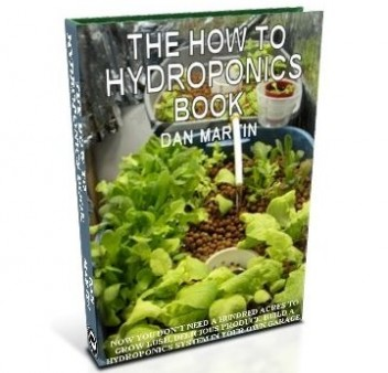 Hydroponics System, DIY How to Build book at diySufficient.com only $4.99