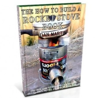 Rocket Stove, DIY How to Build book at diySufficient.com only $4.99