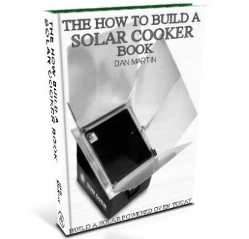 Solar Cooker, DIY How to Build book at diySufficient.com only $4.99