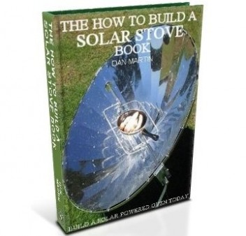 Solar Stove, DIY How to Build book at diySufficient.com only $4.99