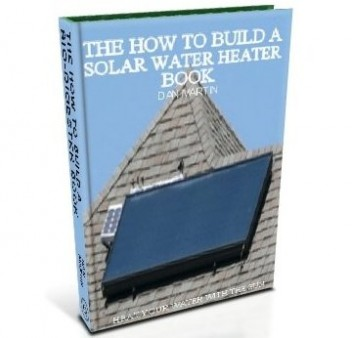 Solar Water Heater, DIY How to Build book at diySufficient.com only $9.99