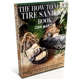 Tire Sandals, DIY How to Build book at diySufficient.com only $4.99