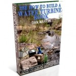 Water Turbine, DIY How to Build book at diySufficient.com only $9.99
