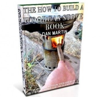 Wood Gas Stove, DIY How to Build book at diySufficient.com only $4.99