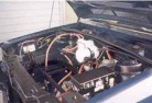 electric motor installed in car