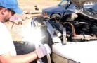 homemade arc welder welding