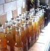 bottles of home brew