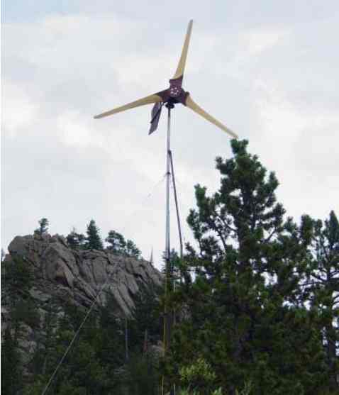 how to build a modded windturbine