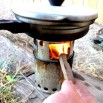 homemade wood gas gasification stove