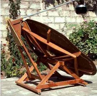 solar dish cooking with the sun