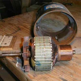 windmill permanent magnet motor PMM