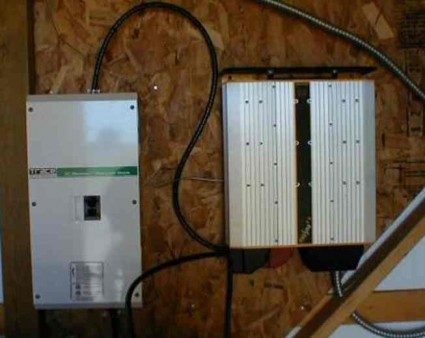 wall mounted solar inverter controller