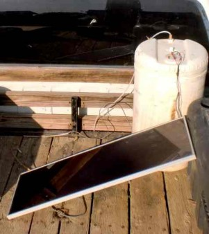 solar powered hydrogen fuel cell