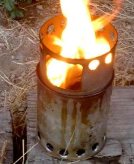 making wood gas gasification fuel